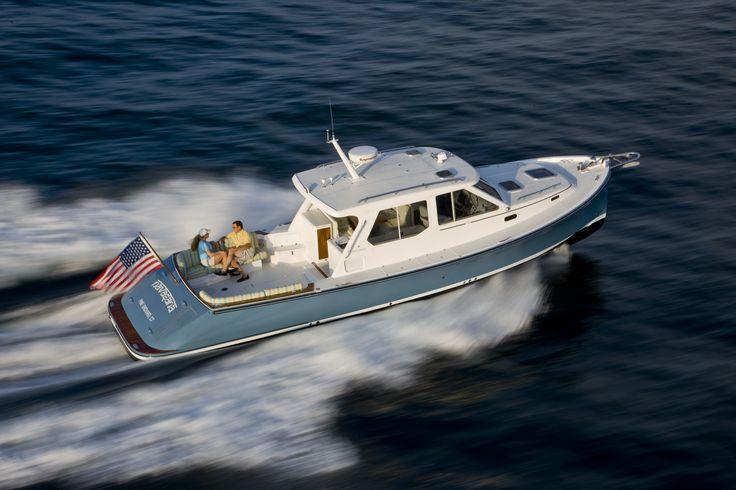 True North 38 An elegant Downeast cruiser with the space, speed, and stability that you need. info@jk3yachts.com