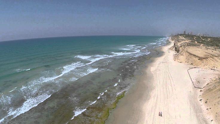Poleg Beach, Netanya, Israel