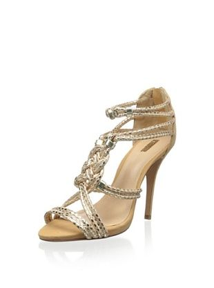 52% OFF Schutz Women's Aksaya Sandal (Lightwood/Platina)