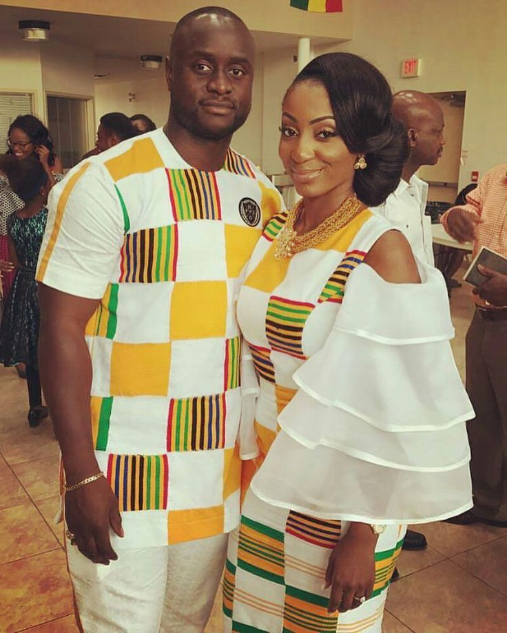 congratulations to @k__jeffrey and @jackied__xox on their traditional marriage. Photo via @cocoaberry #weloveghanaweddings