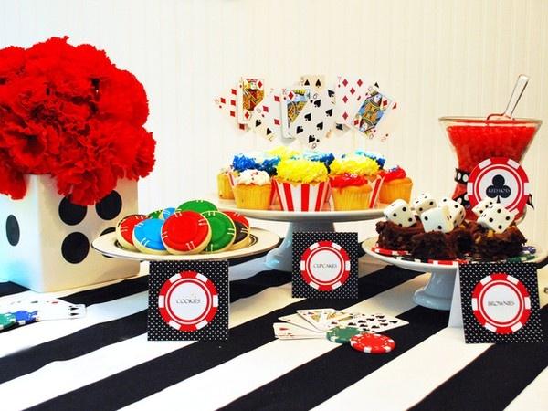 casino party- food ideas.