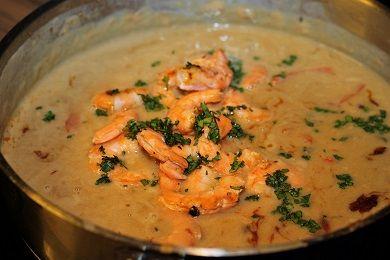 Thajské krevety /Thai shrimp/ Bezlepkový a nízkosacharidový zdravý recept /Gluten free and low carb healthy recipe/