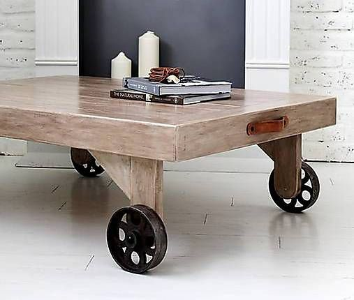 !!!AKCIA!!! Konferenčný stôl INDUSTRY OLD BROWN Pôvodná cena: 325,-€