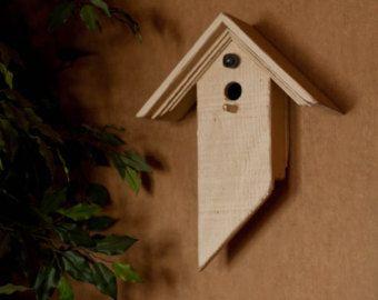 Geregenereerde schuur houten Birdhouse door BirdCreekMercantile
