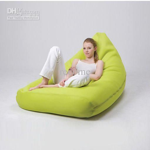 Wholesale Lime green Korea style fashion Pivot living room bean bag chair, big beanbag lounger, High quality new design sofa seat, Free shipping, $26.13-62.7/Piece | DHgate