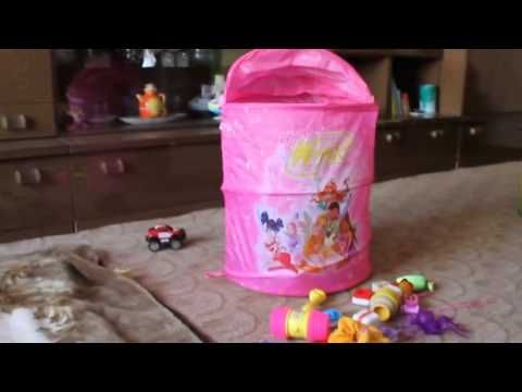 Креативная уборка игрушек