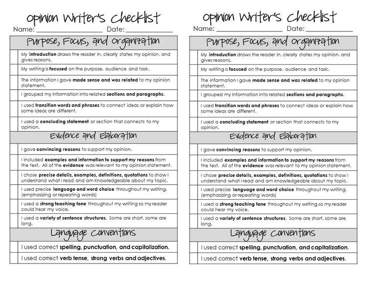opinion response essay