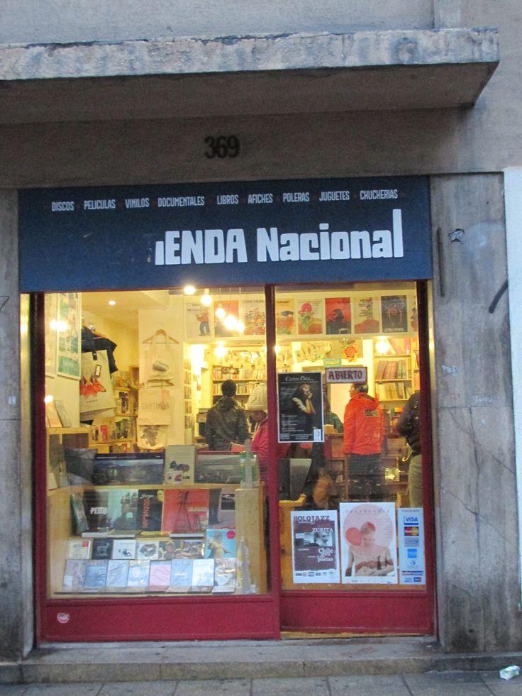 Tienda Nacional (Barrio Lastarria).