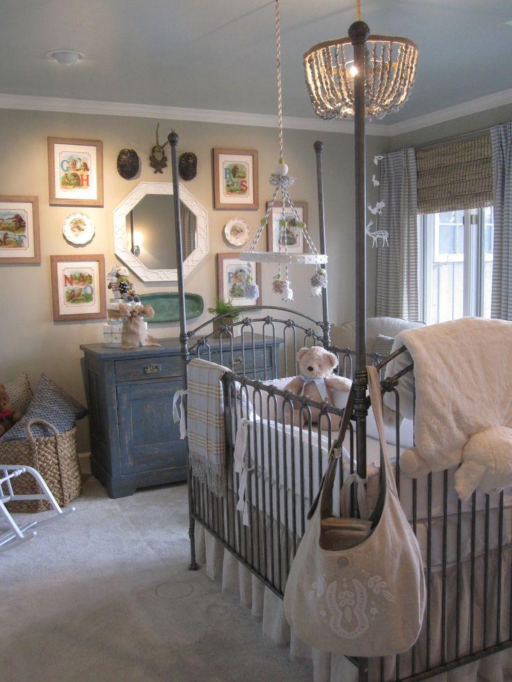 Baby boy nursery - Sawyer's actual bed | Diseño ...