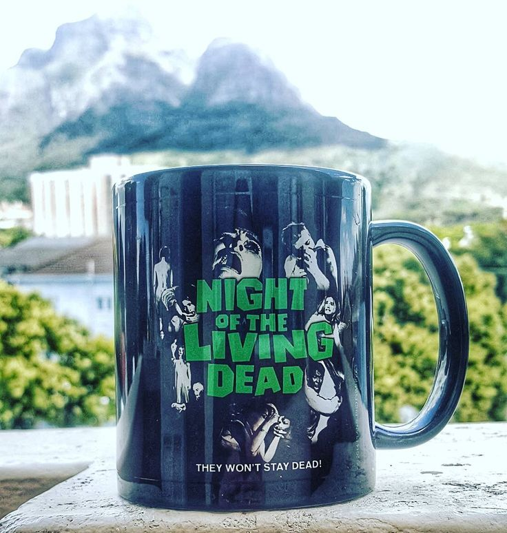 Number three.  #coffeetime #coffee #coffeeaddict #coffeesesh #flatwhite #instagram #instagood #instacoffee #manmakecoffee #yourcoffeeisready #coffeemug #bootleggercoffee #couldbeworse #morning #capetownmornings #capetown #nightofthelivingdead