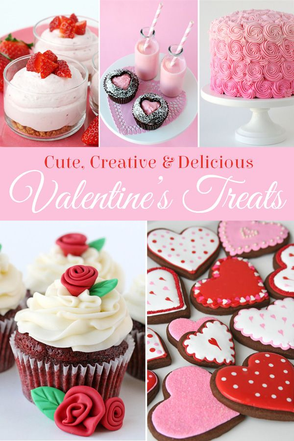 Tons of Cute Valentine's Sweets!