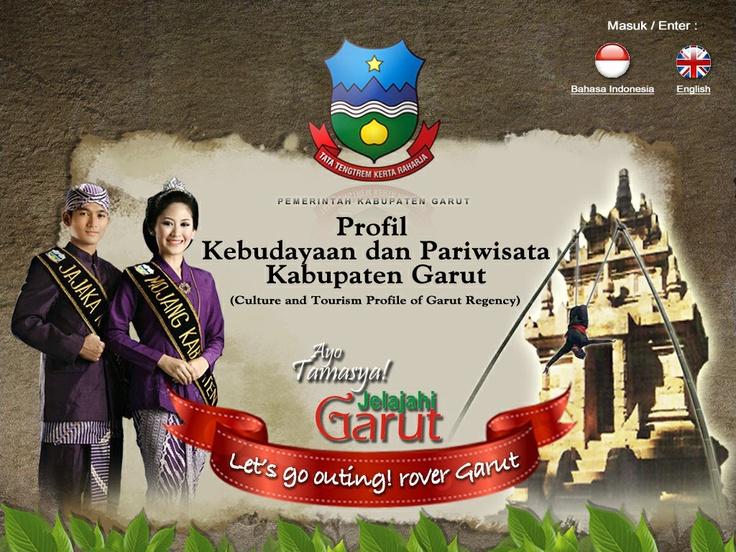 CD Profil Pariwisata Kab.Garut (cover page)