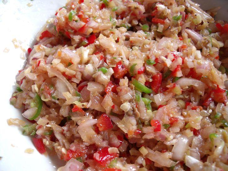 Really quick Balinese sambal matah  Wil and Wayan's Bali Kitchen
