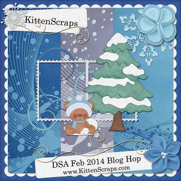 DSA Feb 2014 Blog Hop Freebie - KittenScraps & Friends Forum, Removed from my blog the Feb 2014 DSA Blog Hop