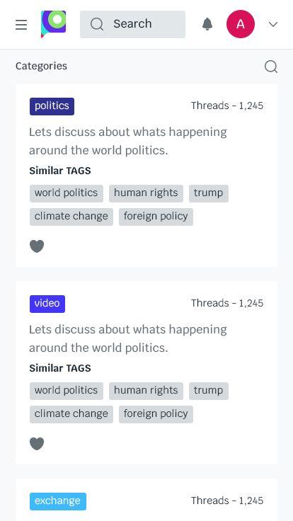 Forum 19 - Forum Website PSD Template #Forum, #Website