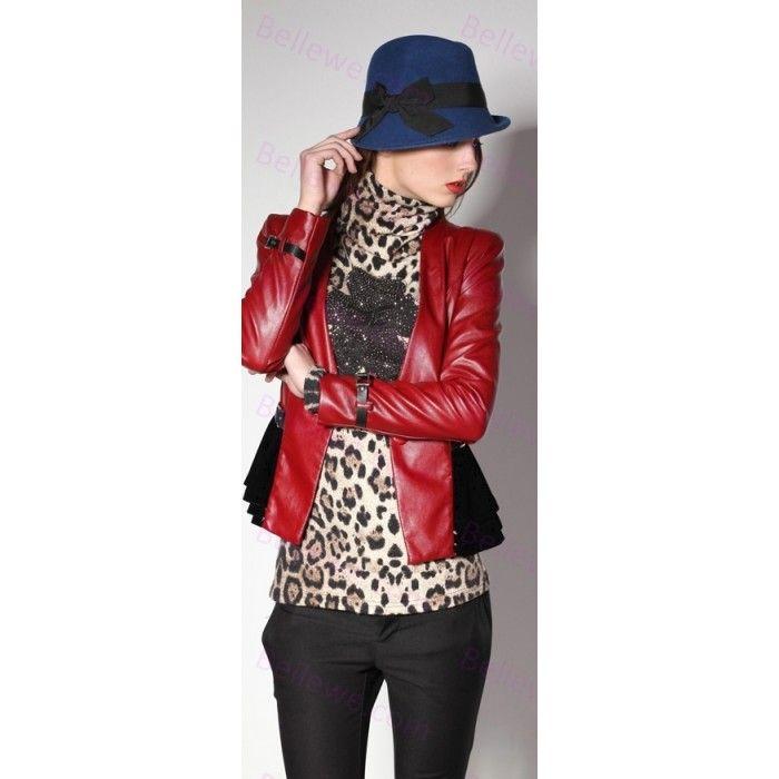 Chapeau cloche drap de laine femme multi-couleurs papillon dome mode beau leger