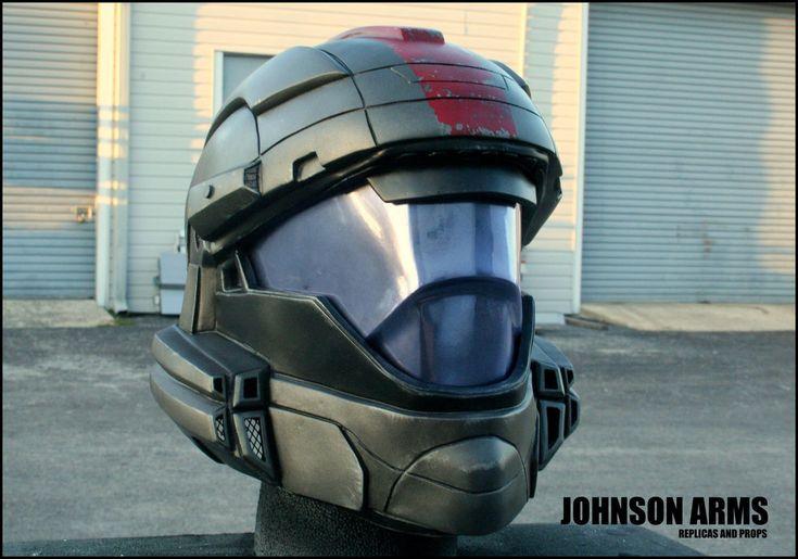 HALO 3 ODST HELMET REPLICA by JohnsonArms on DeviantArt | Scifi ...