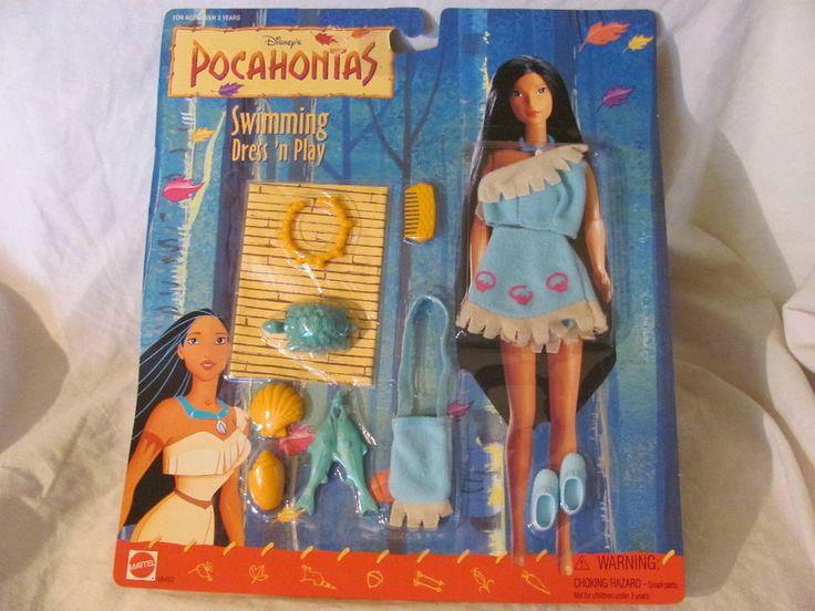 Disney Pocahontas Doll Fashion Dress N Play
