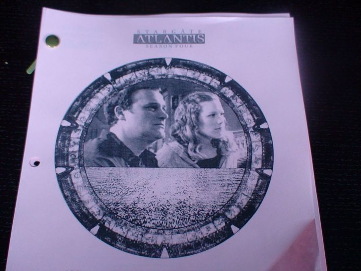 Script Front Page with David Hewlett and Kate Hewlett