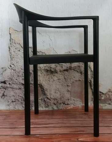 *NINFEA krzesło styl DSW EAMES czarne nowoczesne* Warszawa - image 1