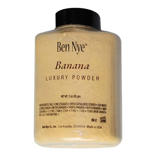 Ben Nye Luxury Powder is Micro-Milled for a silky texture. Luxury Powders are Translucent with just a hint of color. Features a superior matte finish. - Banana powder - Used by Kim kardashian to conto