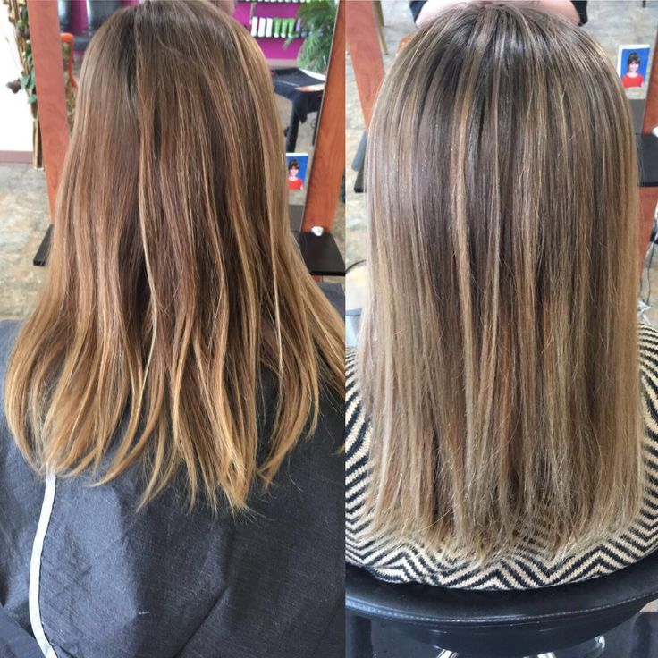 Balayage And Tone At Thanks To Their Clay Lightener Find This Pin More On Calura Hair Color