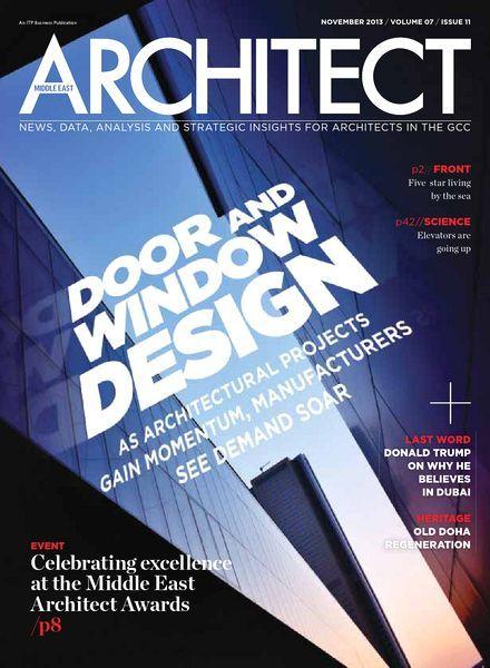 Middle East Architect Magazine November 2013 (440×