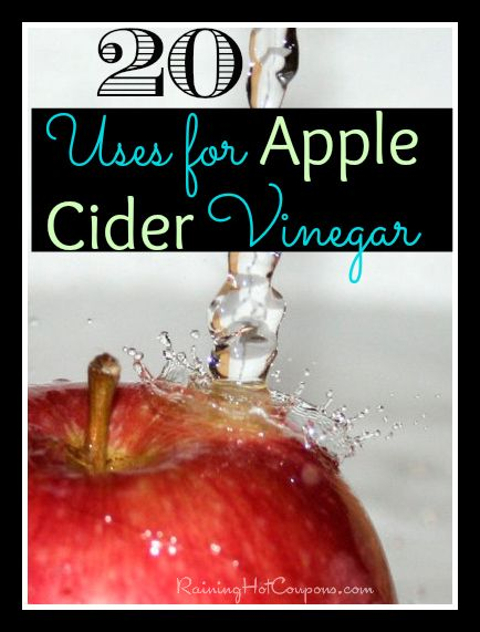 20 Uses for Apple Cider Vinegar (Weight Loss, Acne, Hair, Skin, and MORE!)