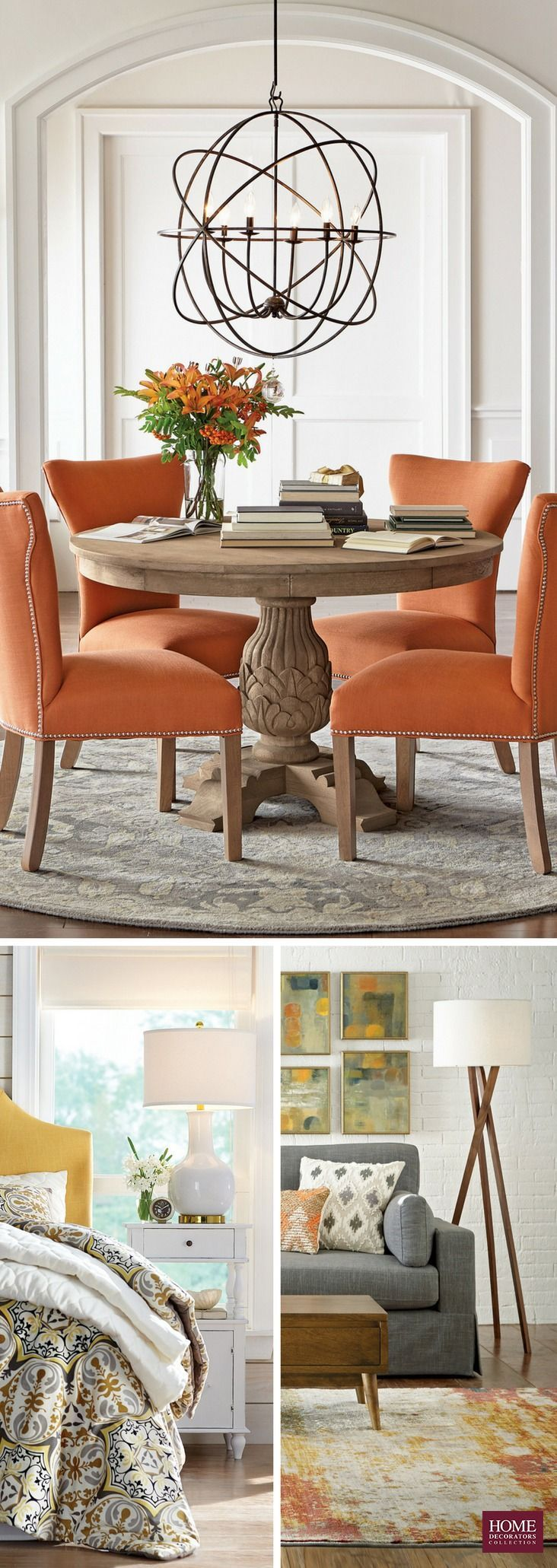 Light up a room with a new lighting fixture. From pendants to lamps, we have hundreds of styles you'll love. With the simple switch of a light, you can change the look of the entire room. Find large pendants for the dining room or smaller ones for the entryway or bathroom. Choose a floor lamp that complements existing decor or a table lamp that brightens the space. Available at HomeDecorators.com.