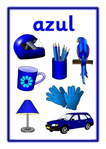 Activipeques: Los colores  Azul