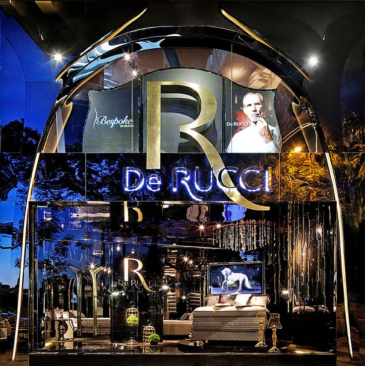 DU RUCCI Bespoke by Alexander Wong Architects #Retail #Interior #Design #Luxury #Brand
