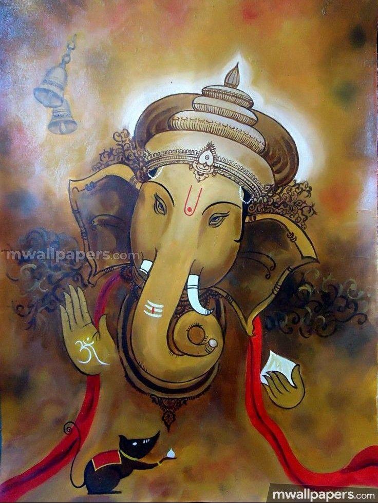 Lord Ganesha Hd Wallpapers Images 1080p Ganesha Painting Ganesha Ganesh Art