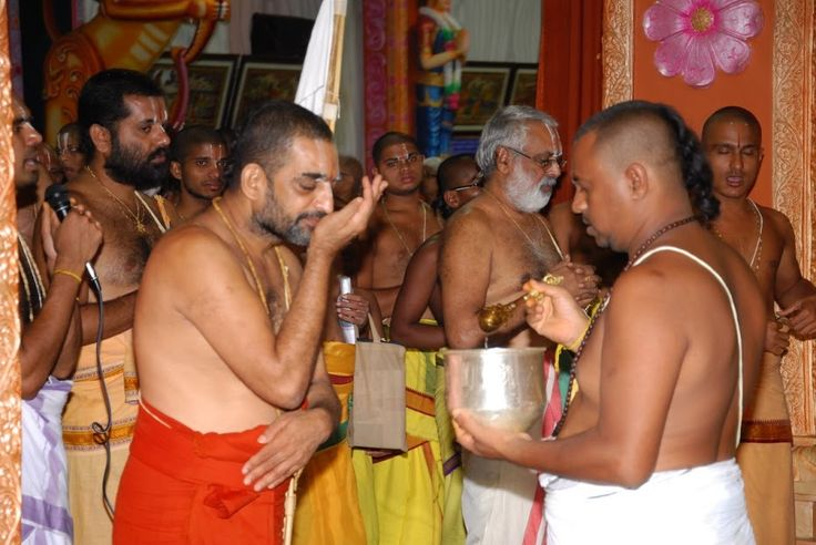 Drinking Theertham – Taste Sense Activated  The next part of your act would be to drink theertham ideally from a silver or a copper vessel. The water used for theertham usually would contain Thulasi leaves dipped in water and must be stored at least for eight hours in the copper vessel.  According to Ayurveda, water stored in a copper vessel has the ability to balance all the three doshas in your body, (vata, kapha and pitta) and it does so by  positively charging the water.