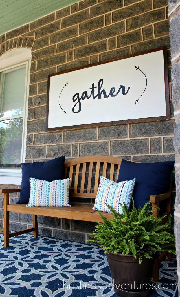 103 best front porch decorating images on pinterest | porch