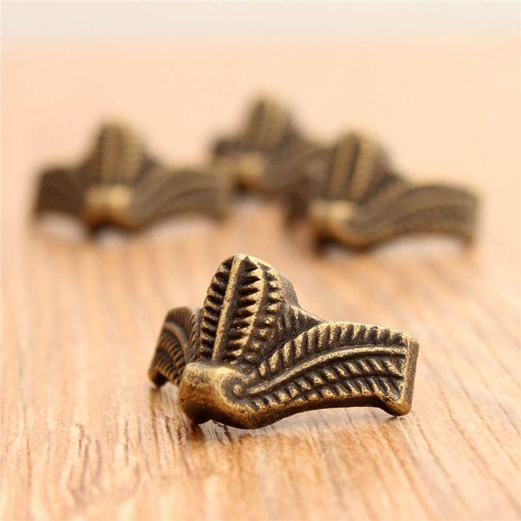 $1.28 (Buy here: https://alitems.com/g/1e8d114494ebda23ff8b16525dc3e8/?i=5&ulp=https%3A%2F%2Fwww.aliexpress.com%2Fitem%2FBest-Price-4pcs-Brass-Vintage-Bronze-Jewelry-Chest-Gift-Box-Wooden-Case-Decorative-Feet-Leg-Metal%2F32756026629.html ) Best Price 4pcs Brass Vintage Bronze Jewelry Chest Gift Box Wooden Case Decorative Feet Leg Metal Corner Protector With Screws for just $1.28