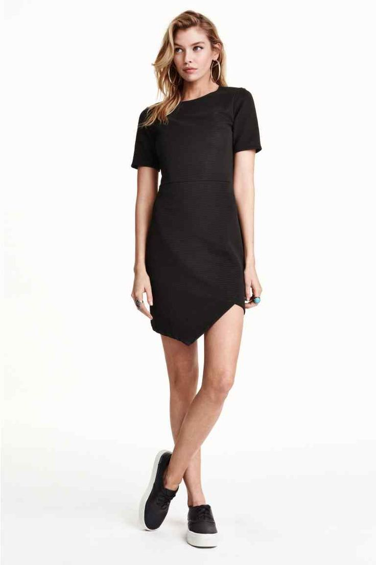 Ribbed dress   H&M
