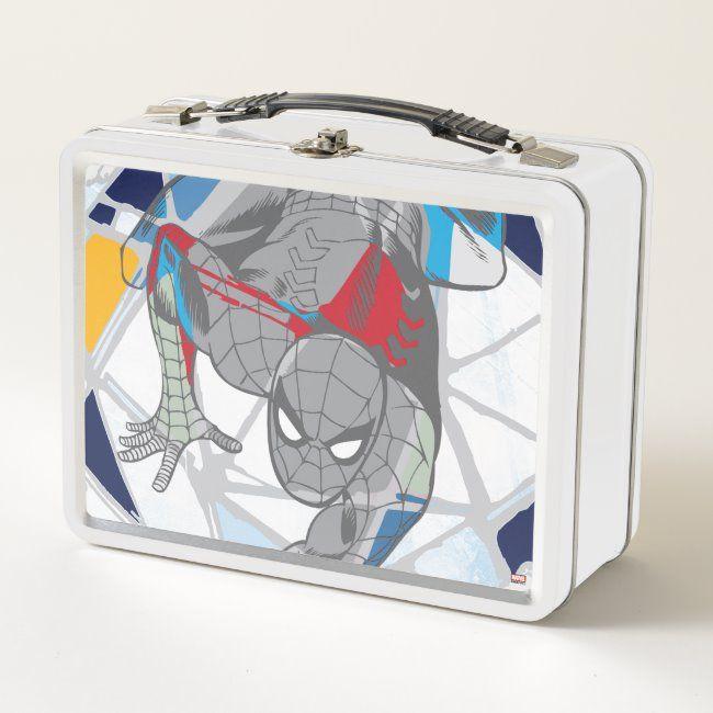 Personalized Spider-Man Dark Skin Baby Treat Box,Birthday Box,Superhero