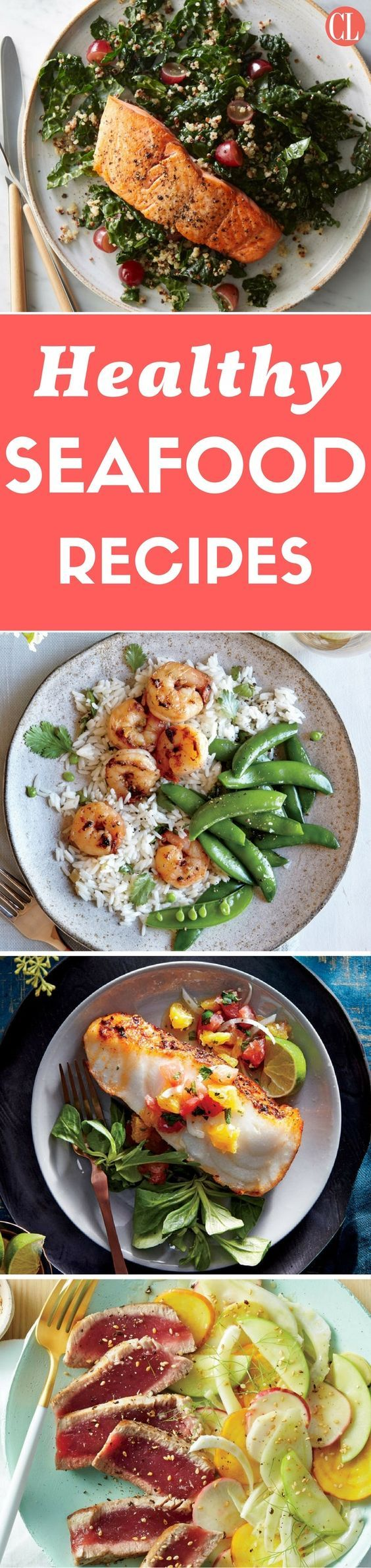 These lean protein sources deliver heart- and brain-healthy benefits so you can stick to a healthy diet. Find your way to optimum heart health with these succulent seafood recipes. Our collection of seafood recipes offers a variety of preparation and cooking options to optimize your fish and shellfish based meals.   Cooking Light