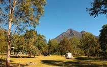 All campsites have mountain views