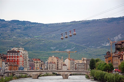 Grenoble, where I spent 3 years studying.