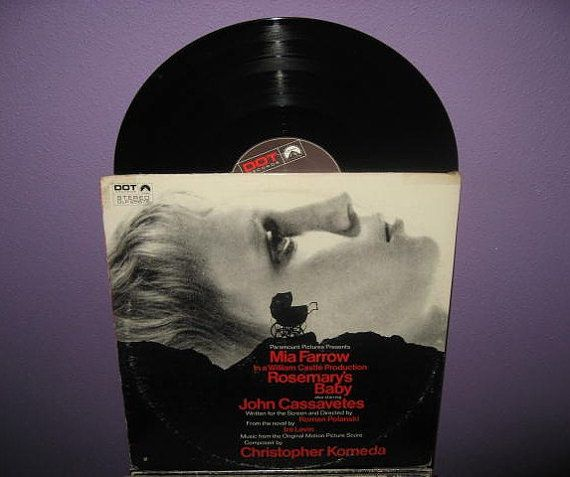 Rare Vinyl Record Rosemary's Baby by JustCoolRecords, $25.50