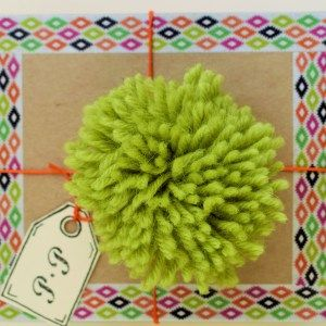 There's even a PomPom Mini Parcel!! This just gets better. Oh these lovely handmade gift parcels are perfect!