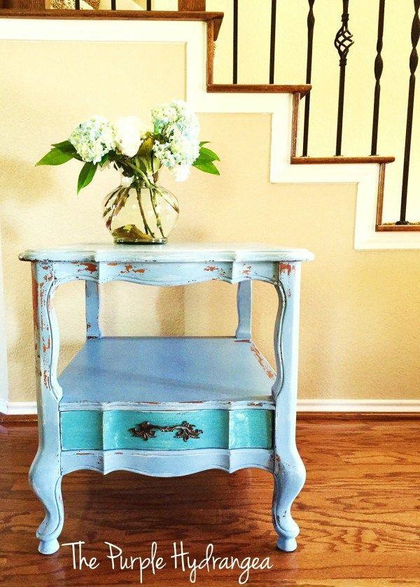 My 5 Favorite Painted Furniture Pieces - The Purple Hydrangea