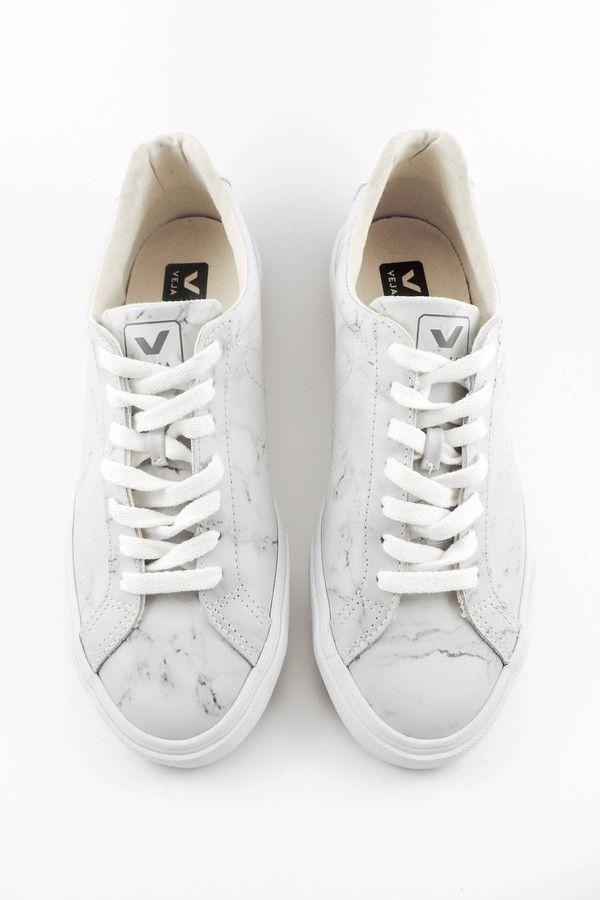 Veja Marble Print Sneakers