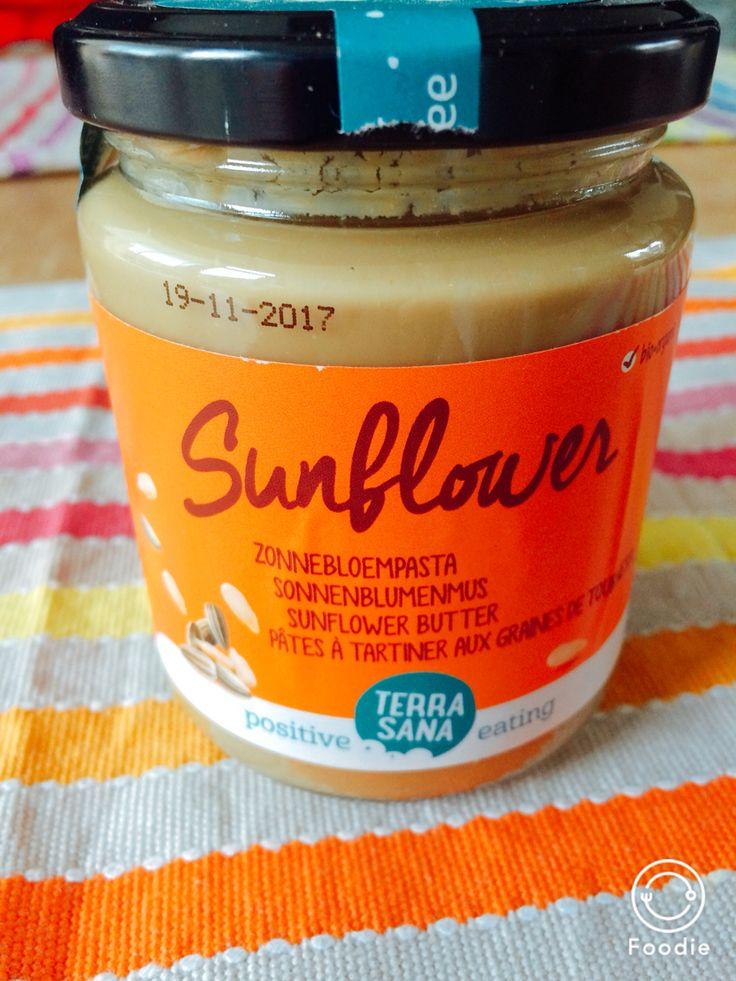 Zonnebloempasta Metabolic Balance Zonnebloempasta van Terra Sana, gekocht bij EkoPlaza. 100% zonnebloempitten
