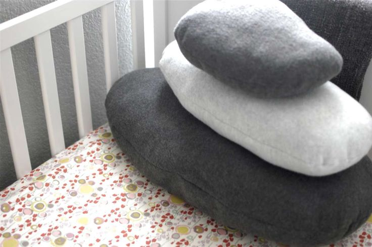 Pebble Pillows Design For Kid ~ http://www.lookmyhomes.com/unique-view-and-functional-pebble-pillows/