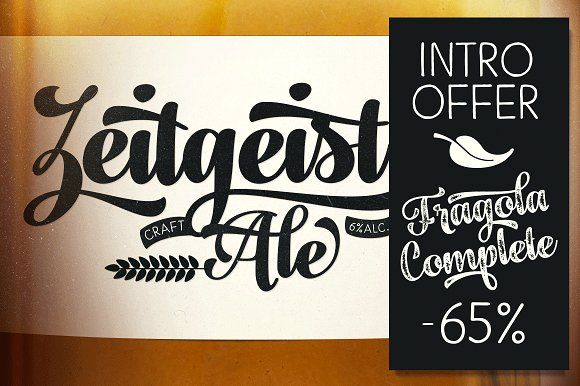 Fragola Type Family intro offer -65% by Fenotype on @creativemarket