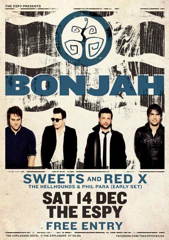 Bonjah Poster - The Esplanade Hotel, December 14