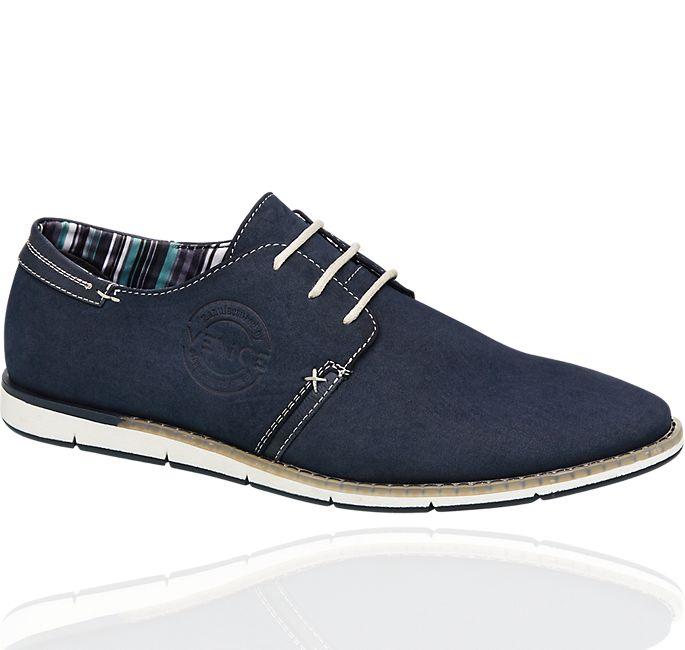 Venice - Zapato casual en polipiel azul marino
