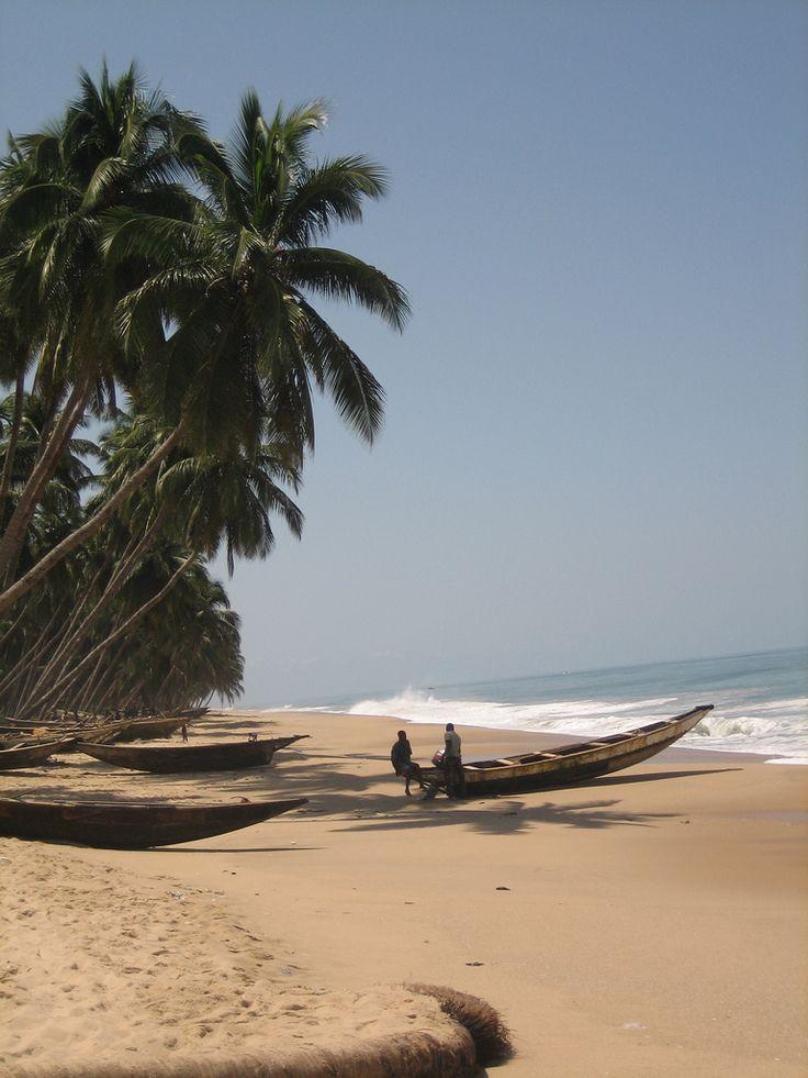 Lekki, a village on the beach - Mushin, Lagos, Nigeria